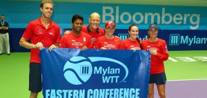 Washington Kastles вышли в финал Mylan WTT
