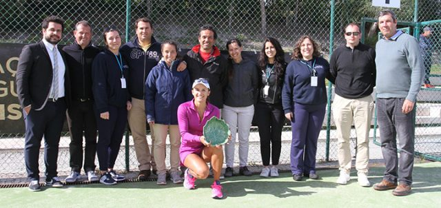 Arina won ITF tournament in Portugal