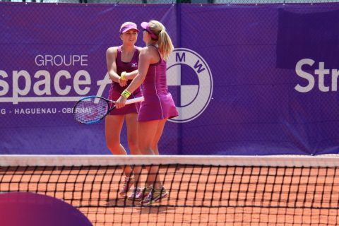 Anastasia & Nadiia move into final in Strasbourg