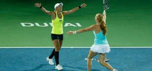 Anastasia is World No.15 in doubles!
