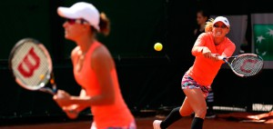 Sisters won first match at the RG