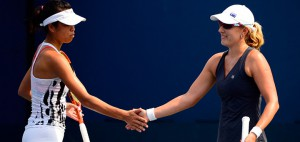 Anastasia plays US Open doubles with Hsieh