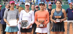Arina won in doubles in Tunisia