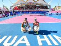 Second WTA Doubles title!